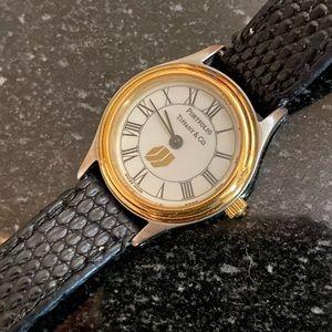 Tiffany & Co. Ladies Portfolio Two-Tone Watch
